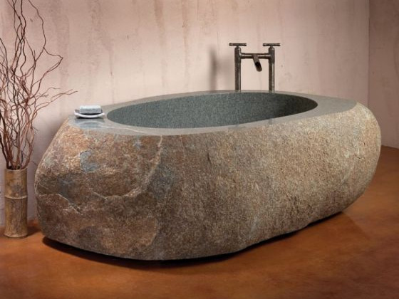 Natural Stone Forest Bathtubs