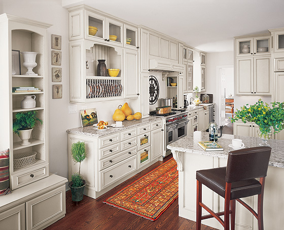 Fieldstone French Country Kitchen