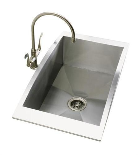Kohler Single Basin Kitchen Sink