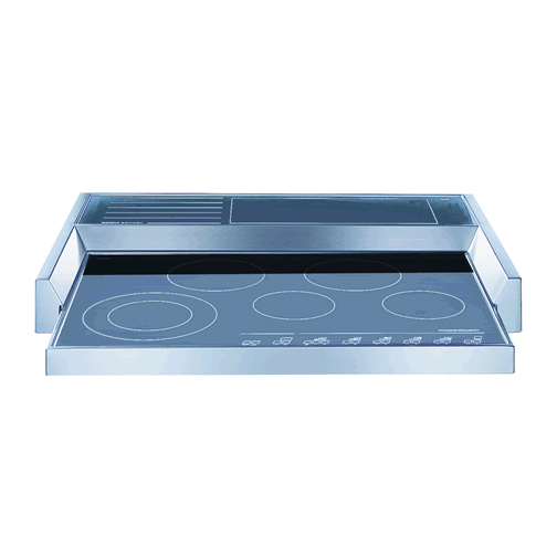 Kuppersbusch 5 Cook Zone Electric Profi Cooktop