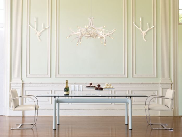 White Antler Decorations by Design within Reach