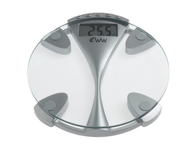 CONAIR WW43D Weight Watchers Glass Memory Precision Electronic Scale