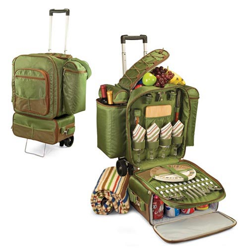 Picnic Time Excursion Deluxe Picnic Trolley