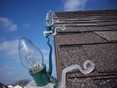Holiday Light Clips Are Simple To Install Even With Gloves On, But Will Stay Secure All Holiday Season