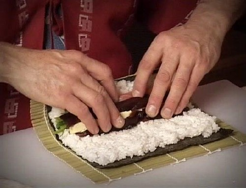 Take Your Time Rolling The Sushi, Keep It Packed Tight, And Press It Firmly So The Rice Sticks In Place