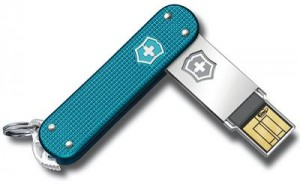 VICTORINOX Swiss Army Slim Flight Alox - 4GB