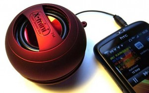 XMI Red Capsule Speaker (X-Mini II)
