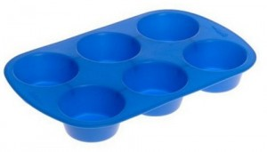 Wilton Silicone Mold 6 Cup Muffin Pan