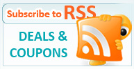 Subscribe to our RSS feed for Sale Deals and Promotions
